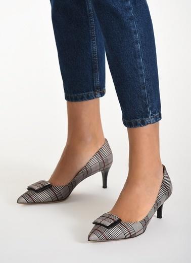 D by Divarese Topuklu Ayakkabı Renkli